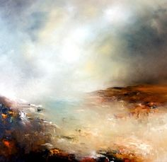 "Saatchi Online Artist Alison Johnson; Painting, ""Simply Silent"" #art"