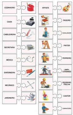 Puzzle - Profissões