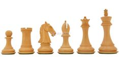 The Indian Chetak Series Staunton Luxury Chess Pieces in Ebony Wood & Box Wood - King. Chess Board Set, Wooden Chess Board, Chess Pieces, Wood Pieces, Luxury Chess Sets, Chess Boxing, Wood Storage Box, Antique Boxes, Wood Boxes