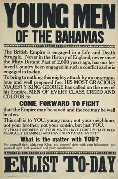 When Britain declared war against Germany in 1914, the reach of its empire was so vast that every fourth person on earth owed allegiance to the British Crown. From the outset, Britain sought to harness the immense resources of its empire to secure victory over Germany. The British colonies in the West Indies played their part in this great struggle.