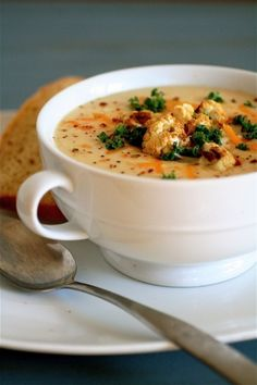 Wisconsin Cauliflower Soup
