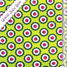 Popeline - Carlitos - Berry - By Lila Lotta - Grün von Good Juju Box auf DaWanda.com