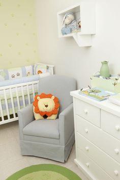 Quarto de Bebê Bichos de Pijama by Atelier Rastro de Tinta - Decoração de Quartos de Bebês - Guia do Bebê