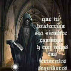 Imagenes De La Santa Muerte Con Frases Chidas 23 Santa Muerte
