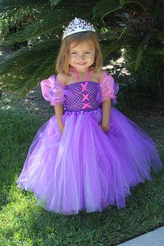 "Rapunzel ""Tangled"" Inspired Tutu Dress"