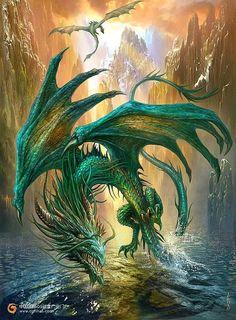 Emerald dragon
