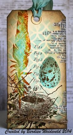 Scrap from Bemmel: Maart tag van Tim Holtz