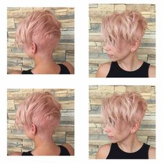 Note to self for hairdresser.  The back of my pixie is getting super shaggy. This will be great to prow it out so I don't get a mullet.