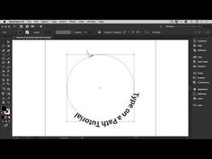 Text on a Path in Illustrator | 2 Minute Tutorial - YouTube