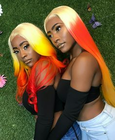 🌸 ᴘıɴ ➫  @ʟıʟᴇrıᴄrαᴢııı 🌸 All Hairstyles, Black Girl Magic, Black Girls, Multicolored Hair, Colorful Hair, Disney Characters, Fictional Characters, Follow Me, Braids