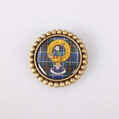McInnes Clan Crest Brooch. Free worldwide shipping available