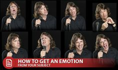 There are six basic emotions -- sadness, surprise, fear, happiness, disgust, anger. Understanding these emotions will help you bring them out in your subjects to create memorable photographs.