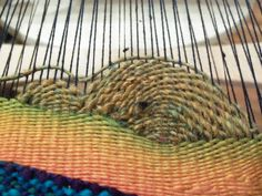 Weaving Landscapes (or just curves) | Ariadne's Thread and Arachne's Tapestry