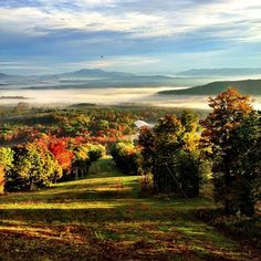 The view from Bousquet Mountain in Pittsfield, MA by @acreswild on Instagram.