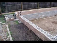 HomeBuilt DIY Concrete Block Swimming Pool - YouTube
