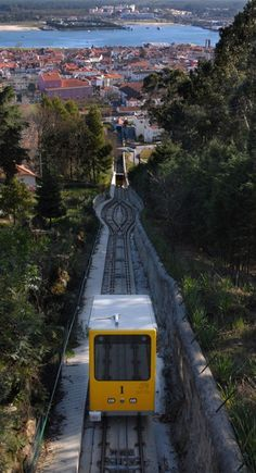 A trip on the funicular is necessary for those who do not wish to climb up to Santa Luzia Portugal. Portugal Vacation, Places In Portugal, Visit Portugal, Portugal Travel, Spain And Portugal, Places To Travel, Places To Go, Voyage Europe, The Beautiful Country