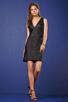 V-Neck Sequin Dress from Next