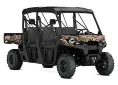 New 2017 Can-Am DEFENDER MAX XT HD8 CAMO ATVs For Sale in Alabama. 2017 CAN-AM DEFENDER MAX XT HD8 CAMO, The Defender MAX XT comes equipped with many factory-installed accessories including 27 in. (68.6 cm) Maxxis Bighorn 2.0 tires mounted on 14 in. (35.6 cm) wheels and Dynamic Power Steering for better handling and steering.