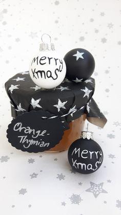 leckere Weihnachtsgeschenke aus der Kinderkueche: Orangenmarmelade