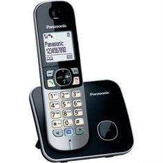 PANASONIC KX-TG-6811-SIYAH DECT 120 REHBER CALLER ID SİYAH ALARM