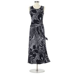 Abstract Floral Maxi Dress - Women's Clothing, Unique Boutique Styles & Classic Wardrobe Essentials