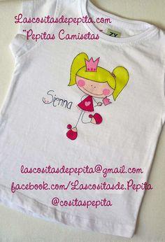 Camisetas pintadas a mano totalmente originales, no hay dos iguales!!!