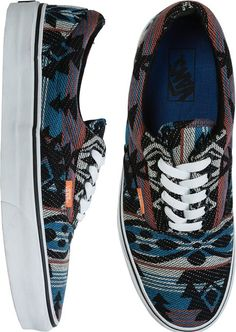 Vans era shoe with southwestern design http://www.swell.com/Guys-VANS/VANS-ERA-SHOE-1?cs=BU @SWELL