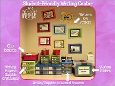 The Colorful Apple: Student-Friendly Writing Center
