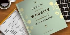 Create Your Own Website Using WordPress in a Weekend- this is the book I'm using to guide this process.