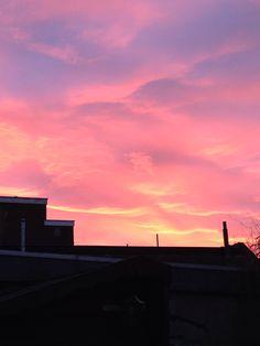 Sunset @ Haarlem the Netherlands december 8th '13