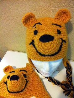 Crochet Winnie the Pooh Beanie
