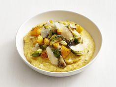 Pumpkin Polenta with Vegetables recipe from Food Network Kitchen via Food Network
