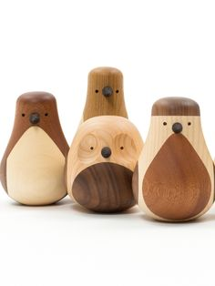 Re-Turned by Discipline | #design Lars Beller Fjetland #wood #pet #owl