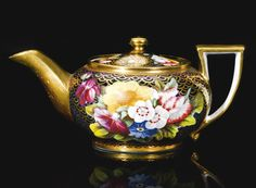 ... Spode  miniature teapot and cover. Circa 1820| Sotheby's