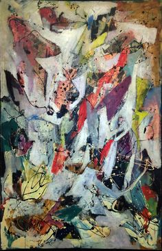 Albert Kotin, Untitled, 1951 Oil on canvas, 57 x 37 inches.