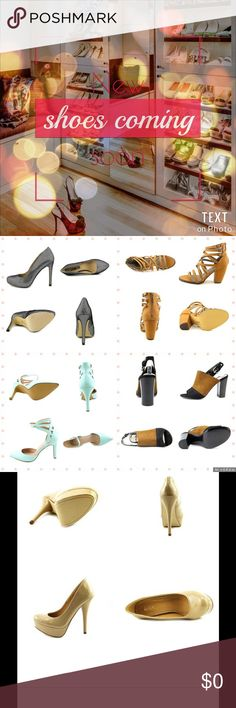 ✨✨NEW shoes available!✨✨💗 Brands include Carlos Santana, Michael Antonio, Wild Pair, INC, and Restricted. Sizes are between 7.5 and 10. All are BRAND NEW. Each pair has its own listing so check out my closet today and shop these sassy shoe styles before they're gone! Vince Camuto Shoes Heels