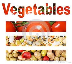 An interesting collage made of pieces of vegetables such as tomatoes, olives and cereals.