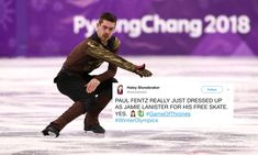 The men's individual figure skating event wrapped up Friday night, and while he didn't medal, Germany's Paul Fentz briefly eclipsed the Winnie-the-Pooh rain showers for doing his free skate to music from Game of Thrones. Fentz, 25, is making his Olympic debut at the 2018 Games. He represented Germany in the team figure skating event, …