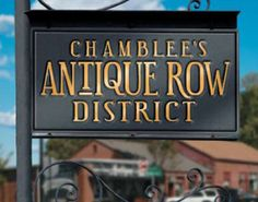 Chamblee Antique Row near Atlanta