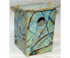 Orchard Nest Box (Green) - www.wildbirdshops.com