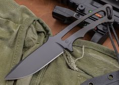 Chris Reeve Knives: Professional Soldier Knife $195