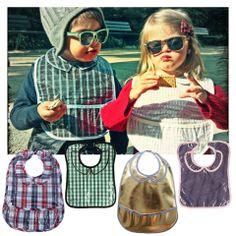 Την ώρα του γεύματος φοράμε τις πιο κομψές σαλιάρες! http://babyglitter.gr/brands/les-pascalettes/
