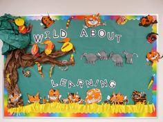 Preschool Back To School Ideas | Autumn Bulletin Board Ideas | Bulletin Board Ideas & Designs
