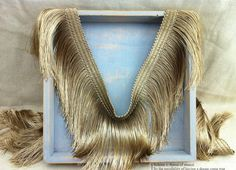 Cheap lace fabric, Buy Quality fringe trim directly from China tassel fringe trim Suppliers: 5 meters/lot High quality tassel lace fabric luxury gold tassel fringe trimming diy garment accessories Fringe Fabric, Lace Fabric, Collar Diy, Gold Lace, Fringe Trim, Diy Necklace, Dance Dresses, Lace Trim, Sewing Crafts