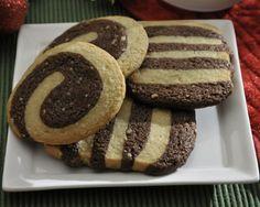 Nutella Amaretto Icebox Cookies with Almonds Recipe