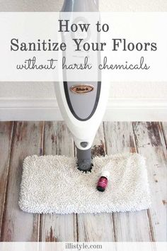 Excellent tips for cleaning your floors without chemicals. Spring cleaning just won't be the same without this tool! Purification Blend by Young Living.