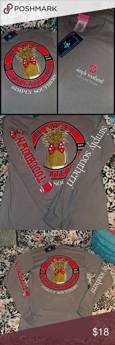 🆕 SIMPLY SOUTHERN T-SHIRTS * ALL SHIRTS ARE DIRECTLY FROM THE FACTORY, MAY OR MAY NOT HAVE TAGS ATTACHED   🚨 WHILE SUPPLIES LAST 🚨 ‼️ PRICE IS FIRM ‼️ 🚫 PLEASE BE CONSIDERATE & DO NOT SEND ME LOW-BALL OFFERS 🚫 🛍️ BUNDLE DISCOUNTS OFFERED 🛍️  ⚠️ BUYER IS RESPONSIBLE FOR ADDITIONAL SHIPPING FEES IF BUNDLE EXCEEDS THE 5LB WEIGHT LIMIT ⚠️  ✅ CHECK OUT ALL OF MY LISTINGS  ⚓ NO TRADES ⚓ NO LOW BALL OFFERS ⚓ I DO NOT MODEL MY LISTINGS ⚓ NO OFF POSH TRANSACTIONS  📬 SHIPS IN 24-48 HOURS…