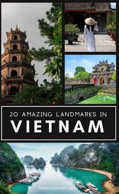 20 Incredible Landmarks in Vietnam. Vietnam is often called one of Southeast Asia's most beautiful countries, it is easy to see why so many backpackers and travellers are drawn to Vietnam. With pristine sandy beaches, bustling cities and lush rainforest, there is a multitude of potential landmarks waiting to be explored.  #travel #vietnam #landmarks #asia #asiatips #traveltips Vietnam Travel Guide, Asia Travel, Travel Usa, Travel Tips, Croatia Travel, Hawaii Travel, Italy Travel, Travel Ideas, Places To Travel