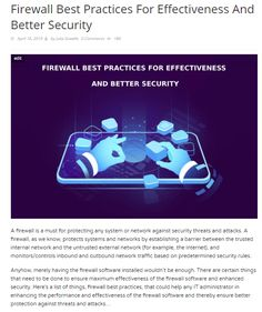 11 Best Firewall News images in 2019
