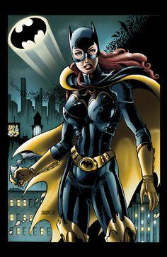 Batgirl with the bats